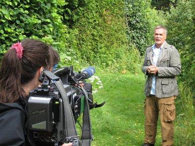 HR Reinhard Schall im Naturbauten Park
